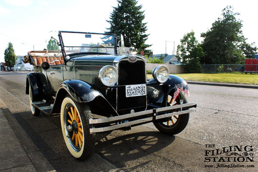 Fred Johnson's 1928