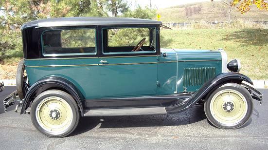 1928 Touring, Art Przybyl