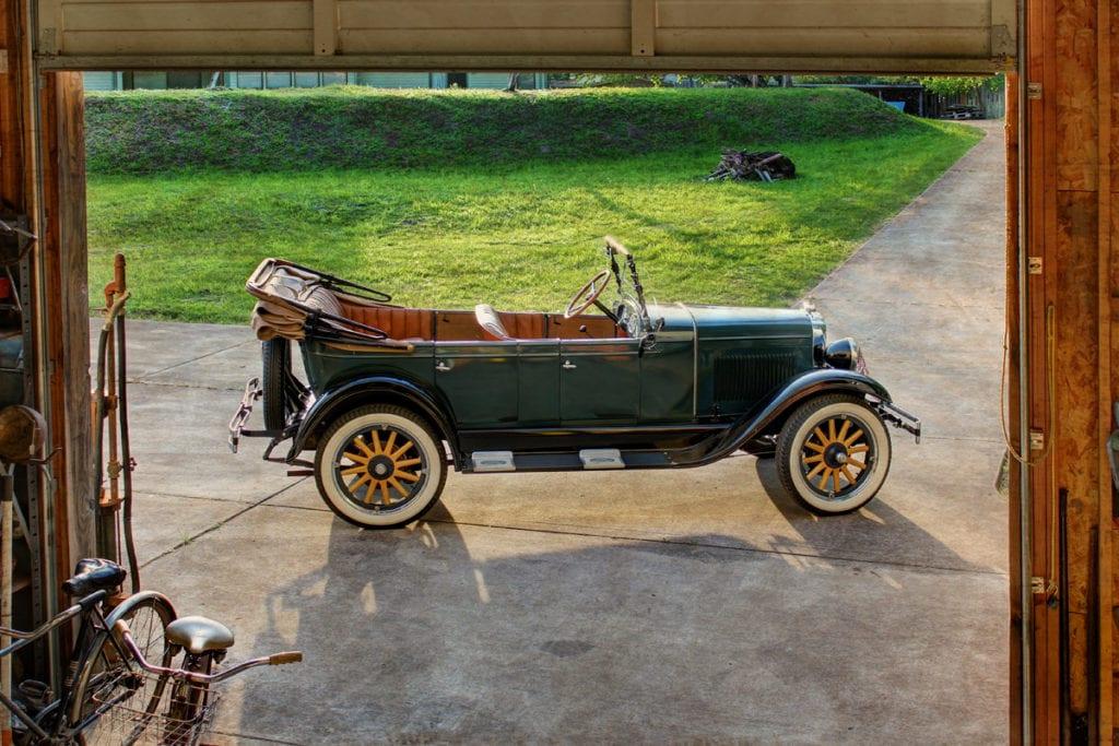 1928 Touring, Fred Johnson