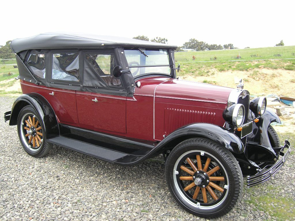 1928 Touring, Ray Dean