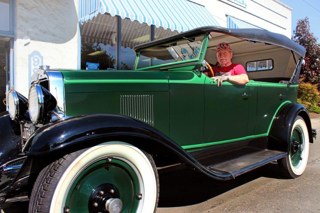 1929 Touring, Scott Simpson