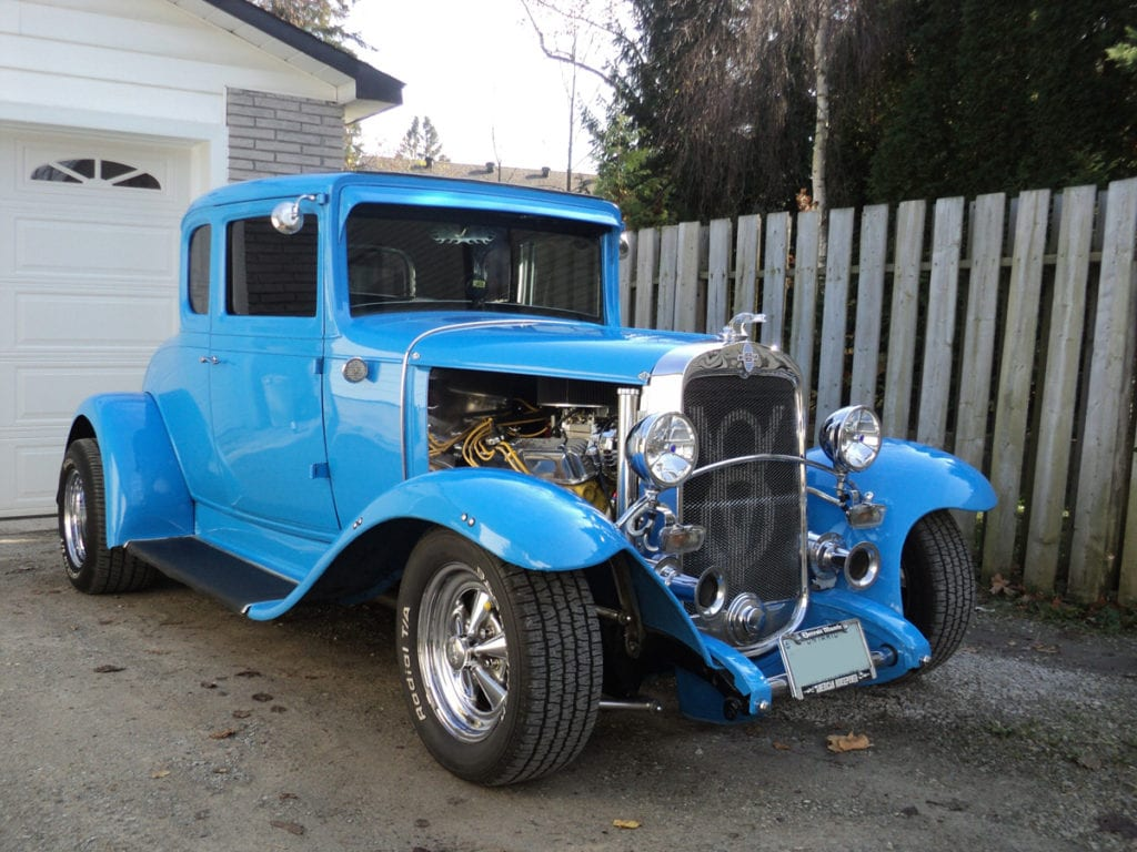 1931 Coupe, John Campsall