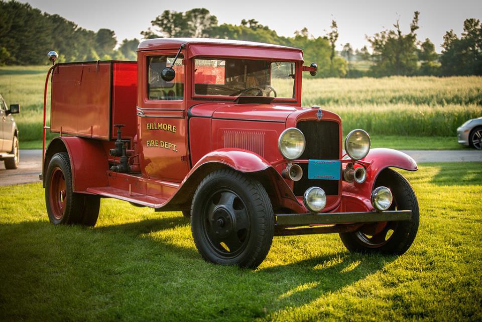 1932 Fire Truck, Nick Candee
