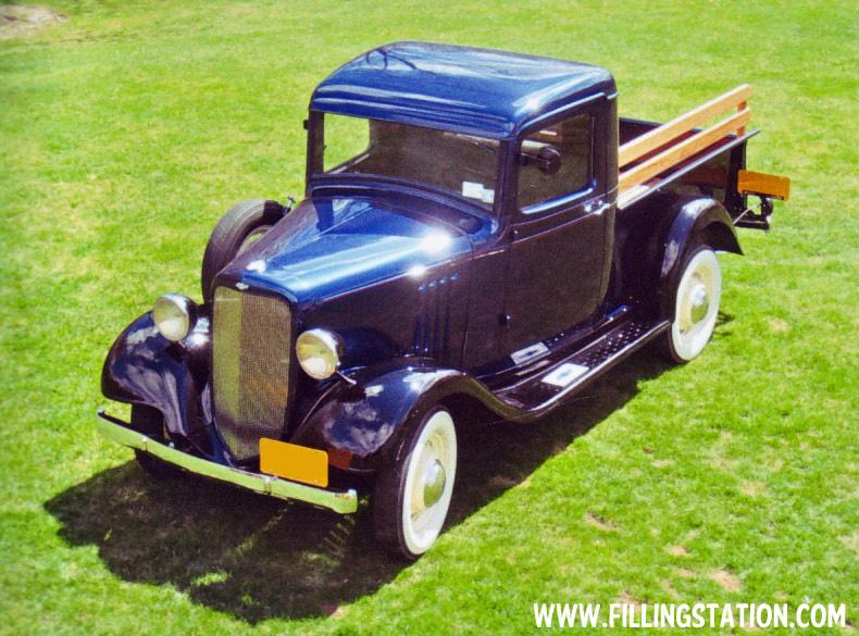 1935 Pickup, Rich Wright
