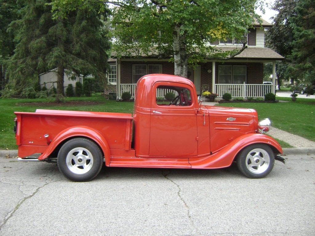 1936 Pickup, Brian & Jean Durnin