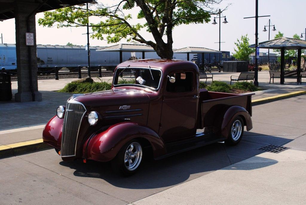 1937 Pickup, David & Linda Faller