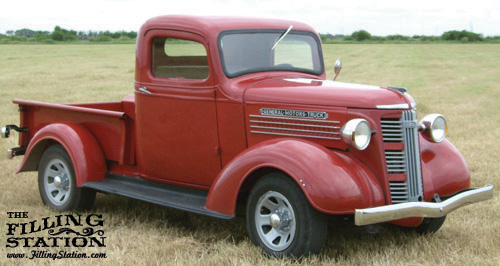 Kenneth Mcdonald's 1938 GMC