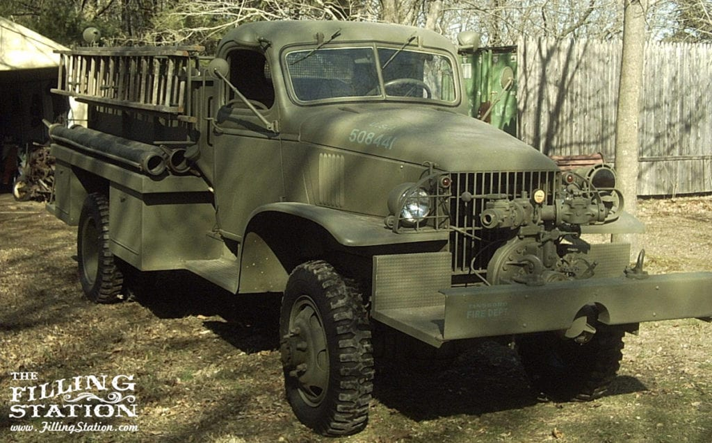 Mike Speece's 1944 Military Fire Truck