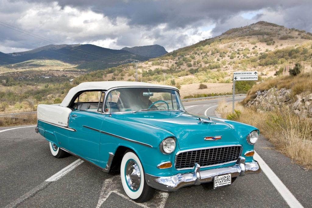 1955 Bel Air Convertible, Jesus Pozo