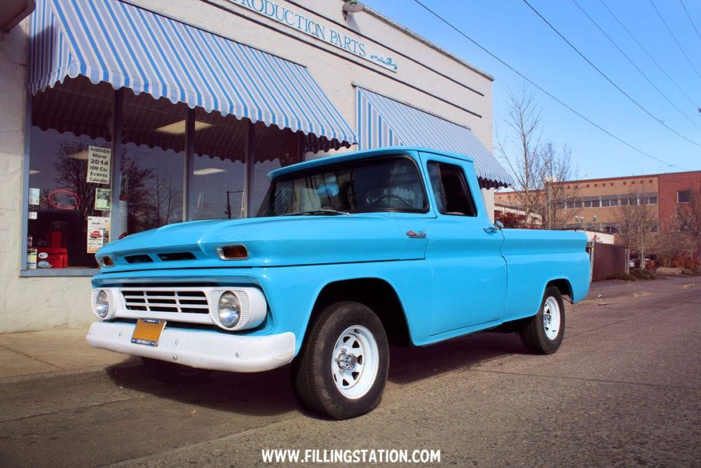 1962 C-10 Pickup, Merle McCloud