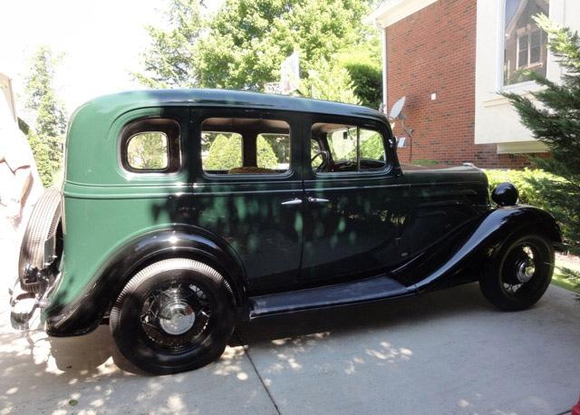 1935 Chevrolet Sedan, Bruce Plagman