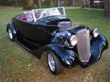 1934 Holden Std. Roadster, David Dodds